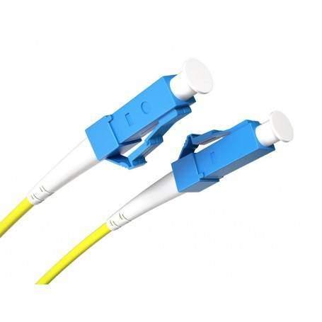 Jarretière fibre LC/UPC-LC/UPC SM Simplex (2m) Opton