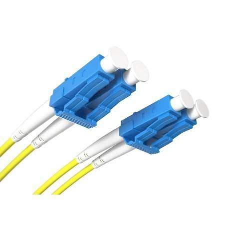 Jarretière fibre LC/UPC-LC/UPC SM Duplex (1m) Opton