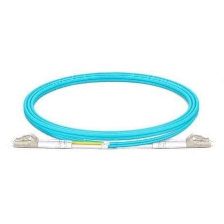Jarretière fibre LC-LC MM duplex OM4 (1m)