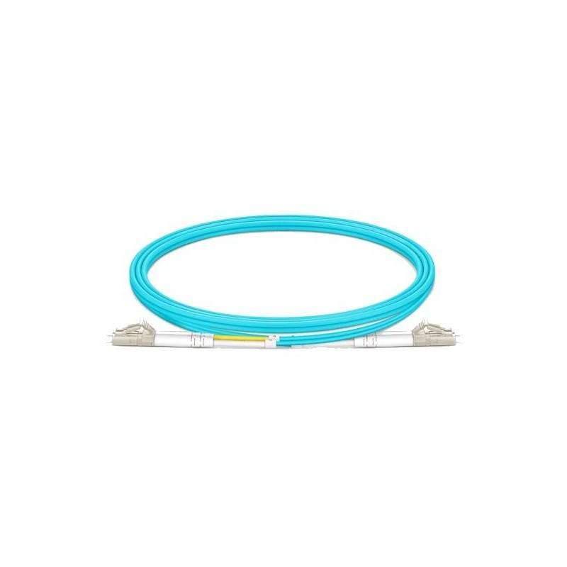 Jarretière fibre LC-LC MM duplex OM3 (1m)